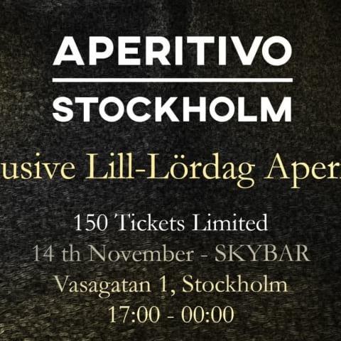 Aperitivo Stockholm på Skybar