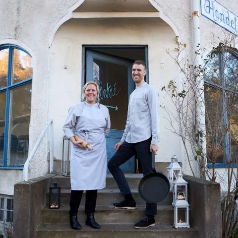 Franska bakverk och bistromat intar Handelshuset i Saltsjöbaden