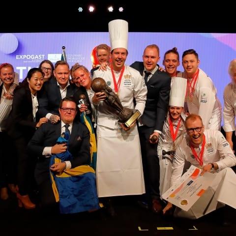 Guld till svenska kocklandslaget i Culinary World Cup