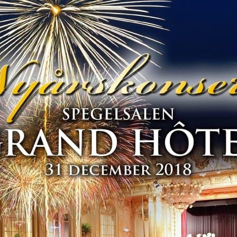 Nyårskonsert på Grand Hôtel