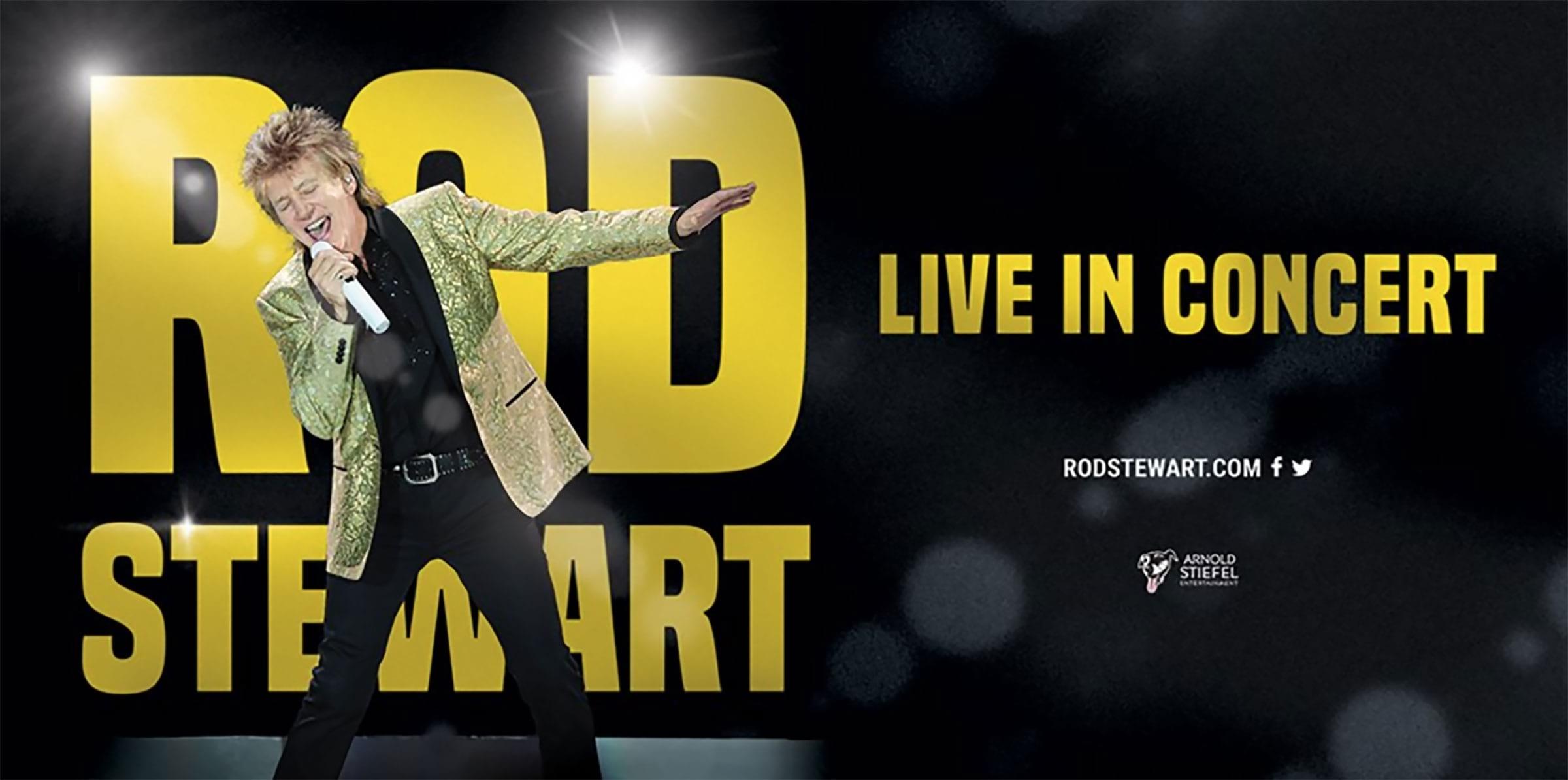 Rod Stewart Live in Concert till Stockholm