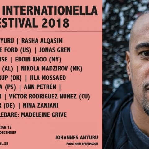 Stockholms Internationella Poesifestival 2018