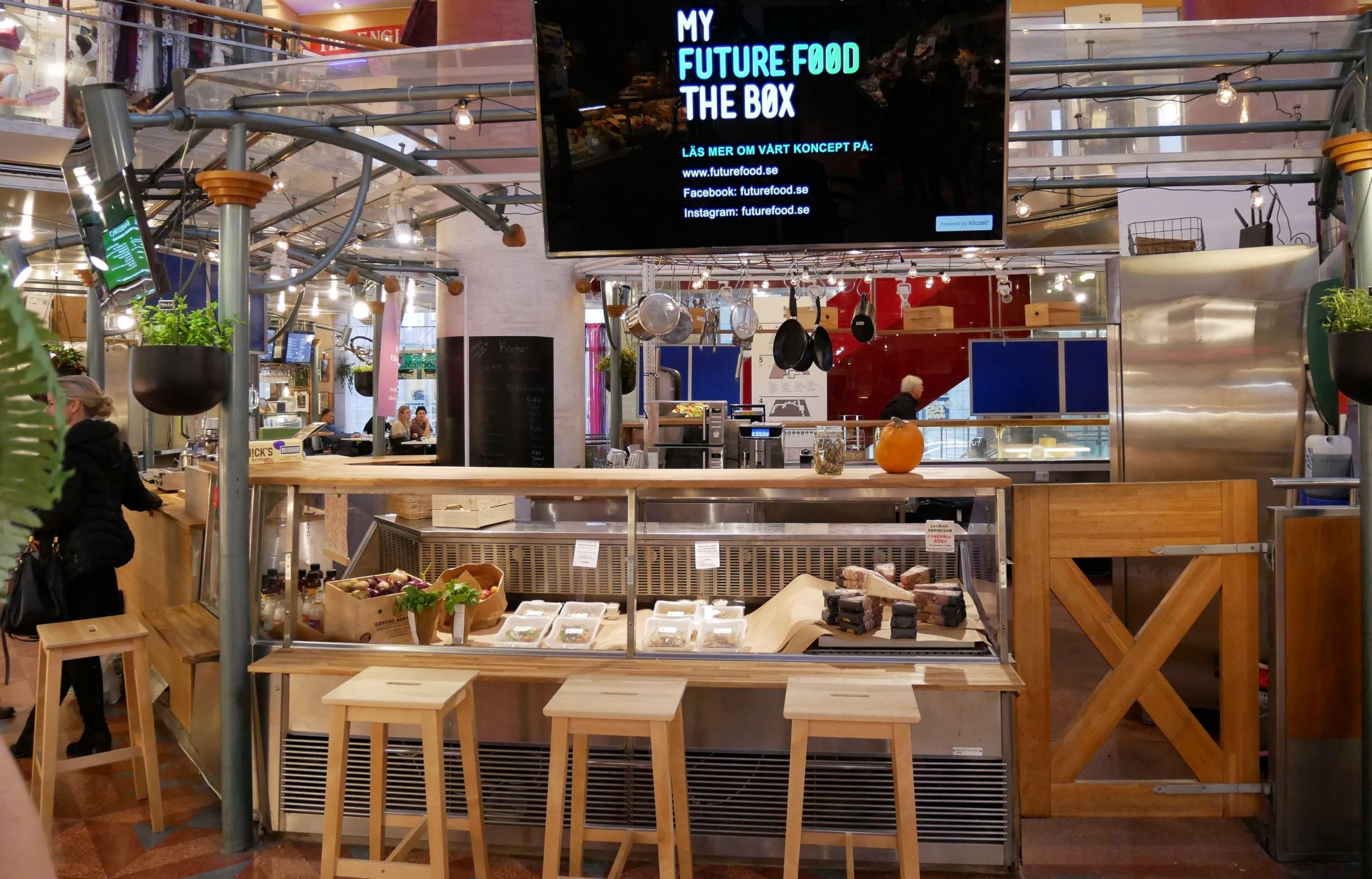 Upptäck framtidens mat på My Future Food – The Box i Söderhallarna