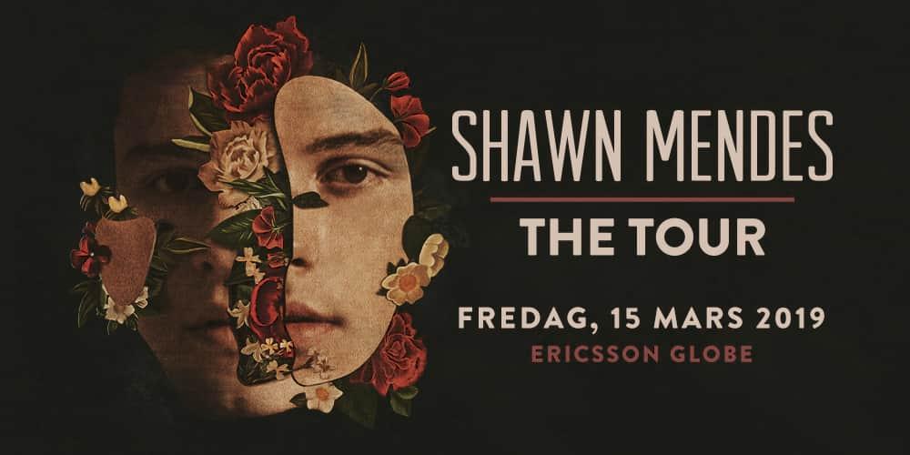 Shawn Mendes till Sverige