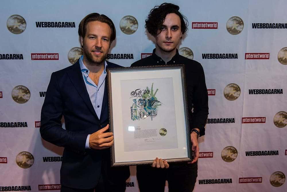 Adam Linders & Fredrik Jungstedt. Foto: Martin Fältström