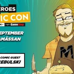 Comic Con Stockholm 14-16 september