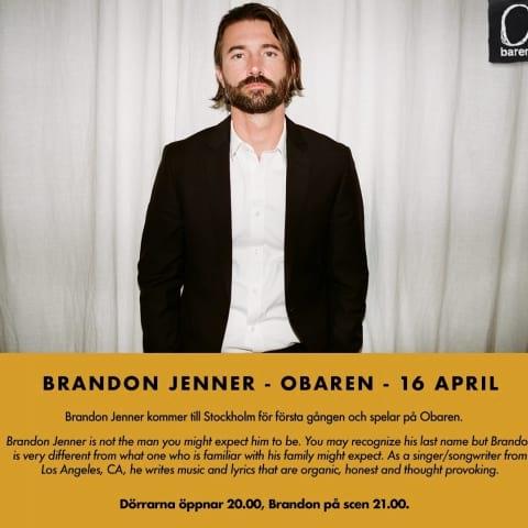 Brandon Jenner live Obaren