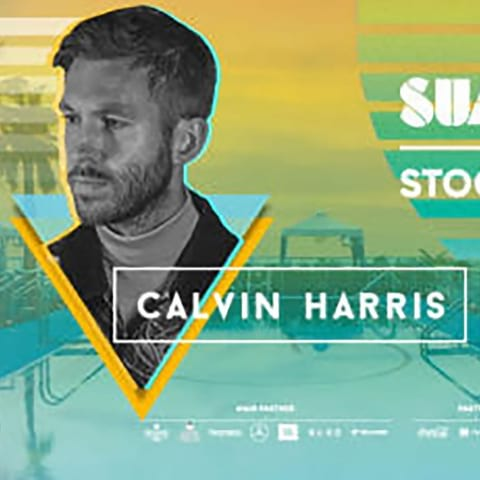 Calvin Harris till Summerburst 2019