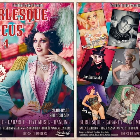 Fräulein Frauke Presents Burlesque Circus – 10 year special