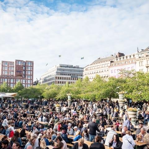 Restauranger och foodtrucks på Smaka på Stockholm 2019