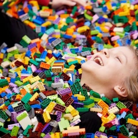 Första officiella LEGO World till Kistamässan