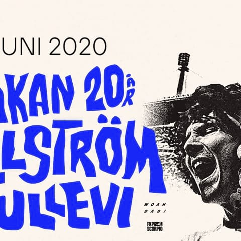 Håkan Hellström spelar på Ullevi 2020