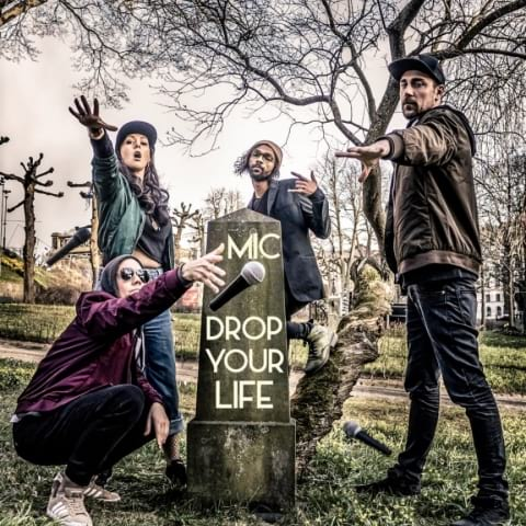 Mic drop your life- impro comedy med gäster