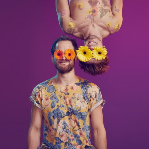 Cirkus Cirkör i föreställningen Bloom