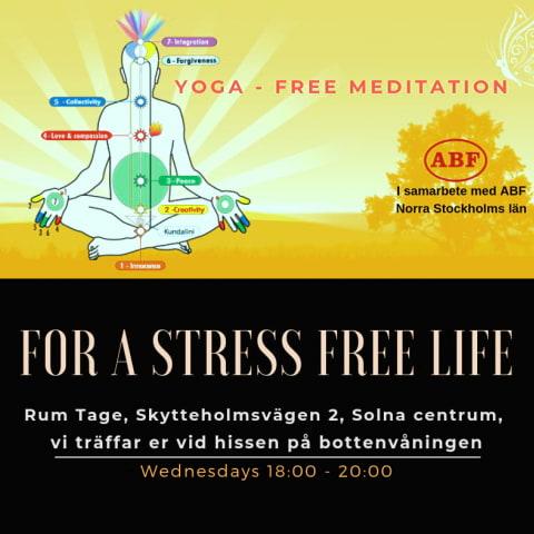 En enkel och gratis Meditation-Yoga kurs