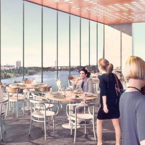 Han öppnar takrestaurang vid vattnet i Liljeholmen