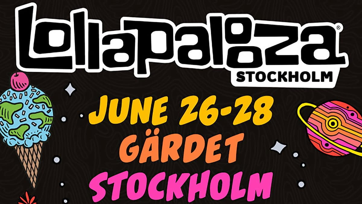 Lollapalooza Stockholm 2020: Full artist line-up