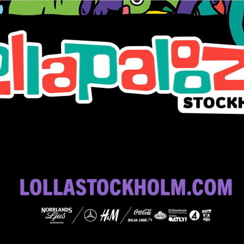 Lollapalooza Stockholm 2022: Här är alla artister som spelar