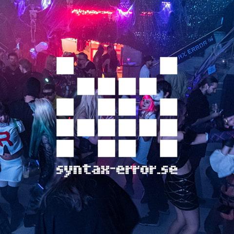 Syntax Errors Nyårsfest med Moogen