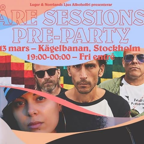 Åre Sessions Pre-Party på Kägelbanan