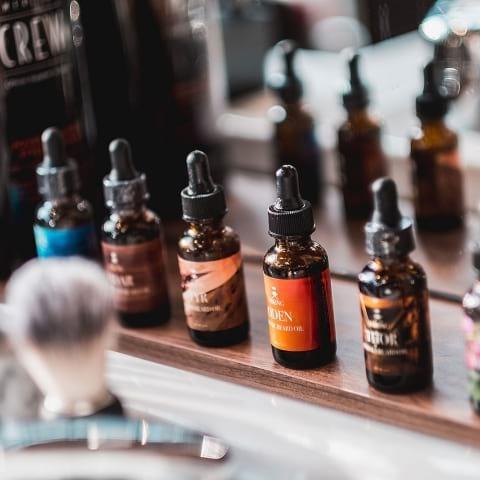 Barberare med passion för doft