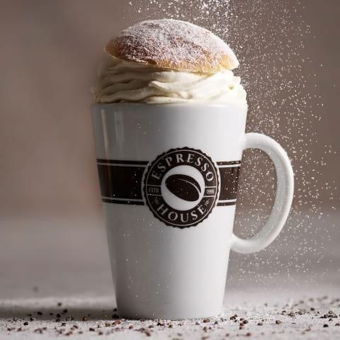 Espresso House lanserar Semla Latte