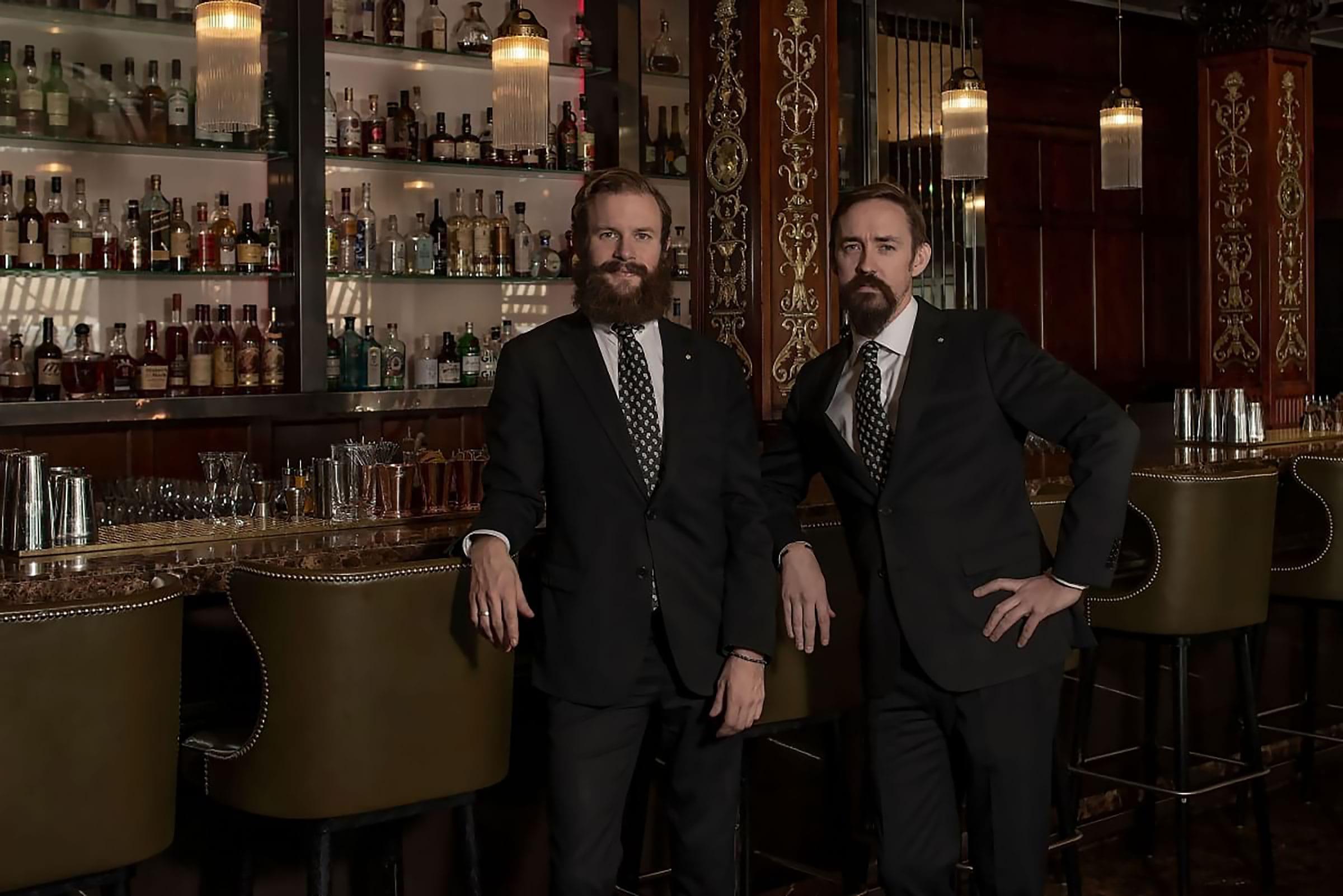 Emil Åreng och Christian Grevius