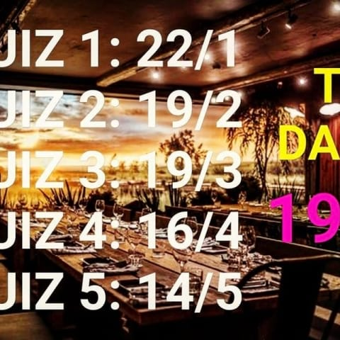The Yard – Quiz 3