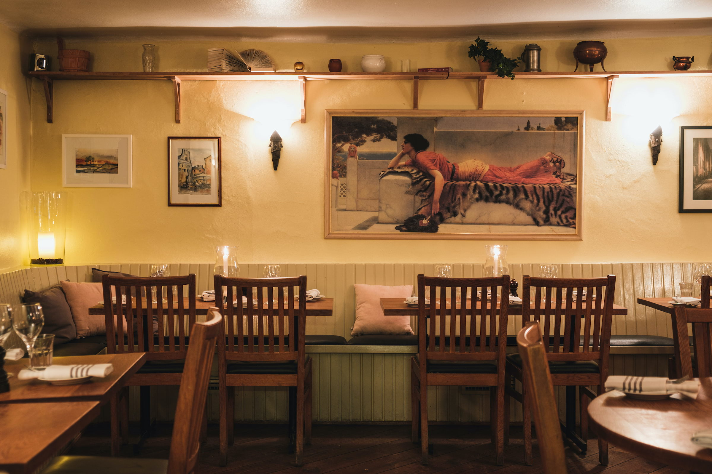 The guide to cosy restaurants in the Old Town