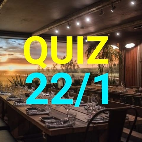 Quiz @ The Yard
