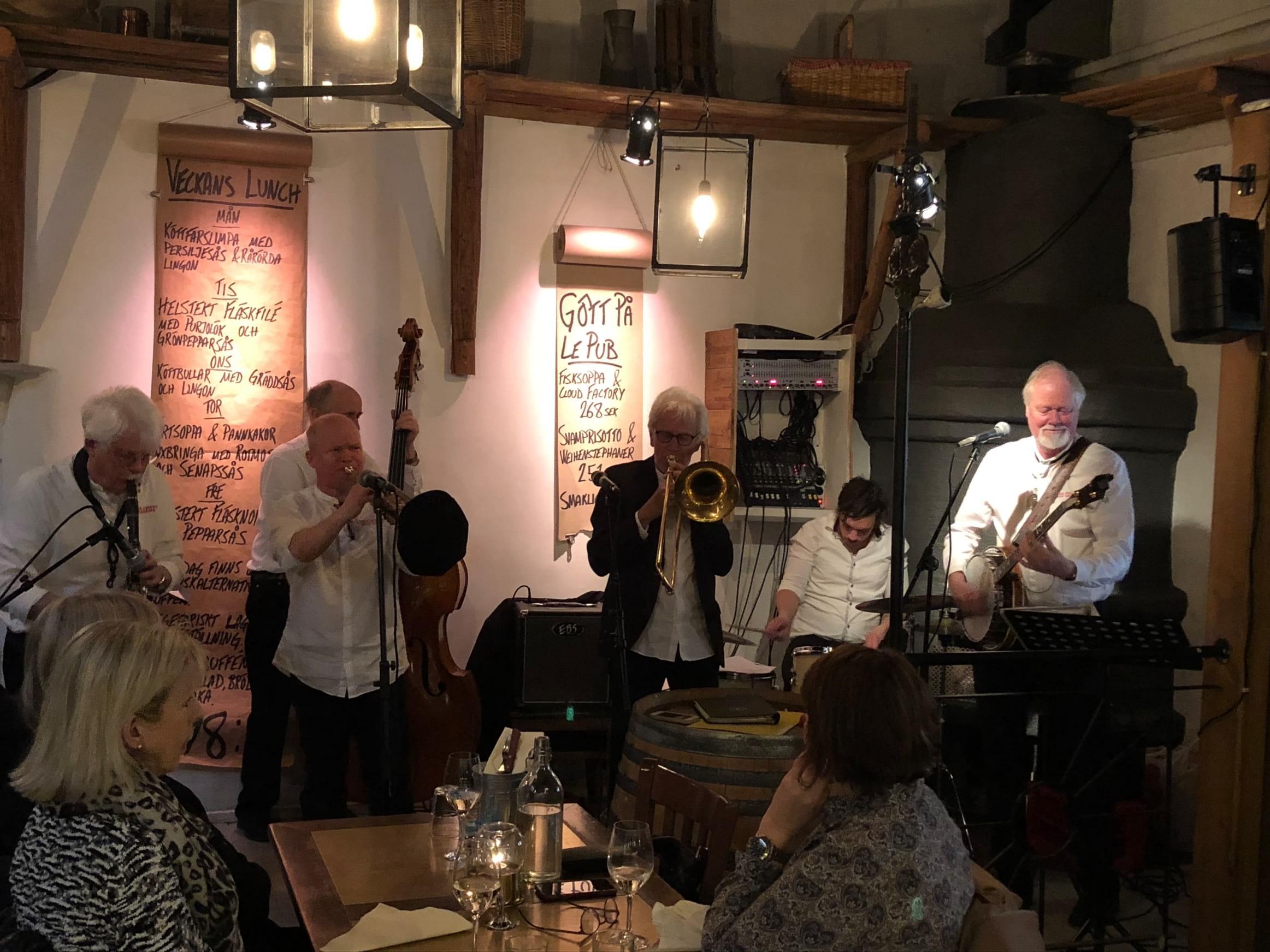 Jazzbandet Papa Piders