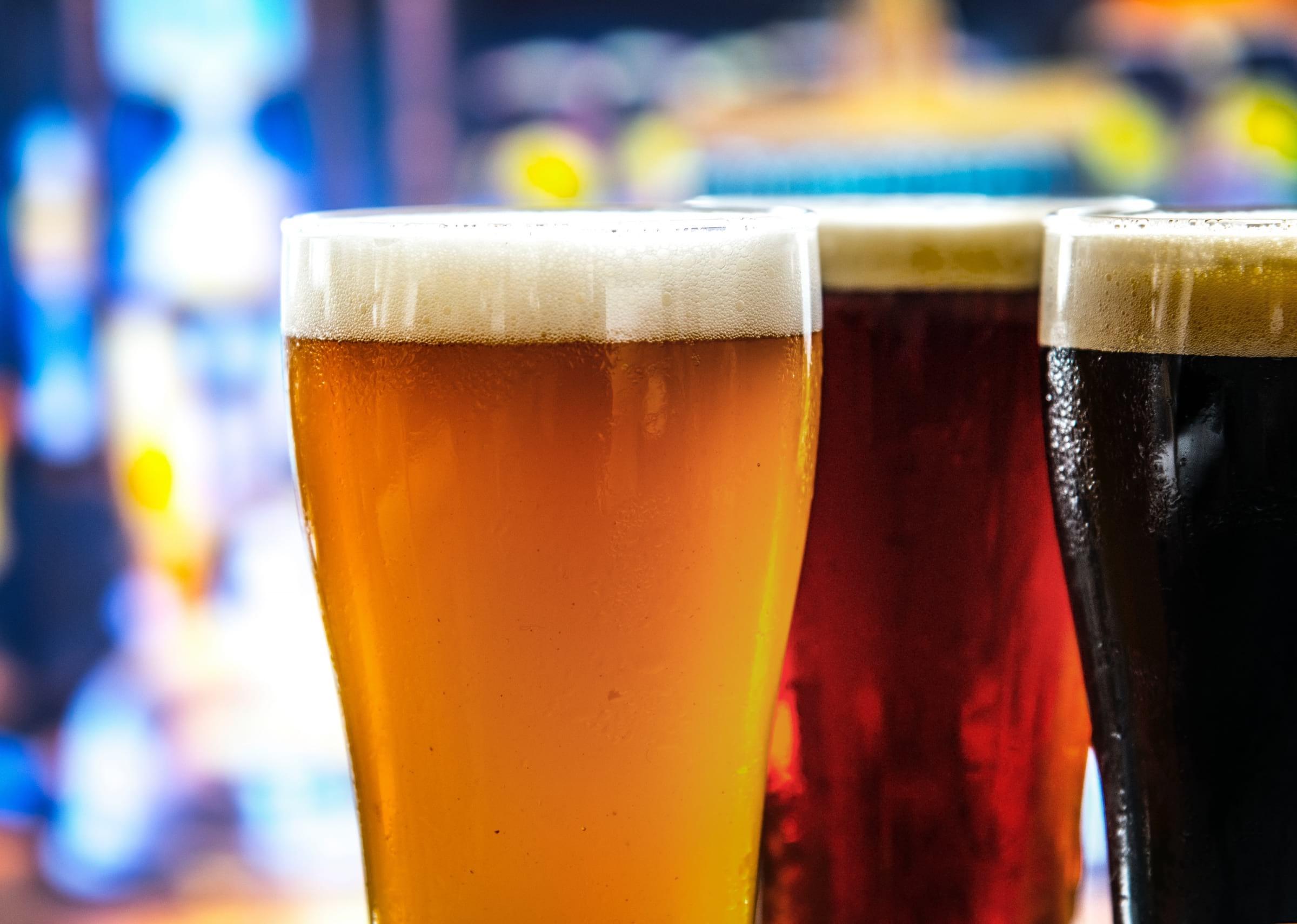 Ta en Klunk på Poppels bryggeribar i Jonsered