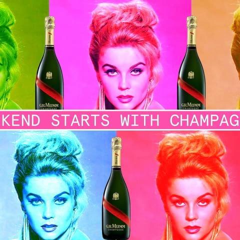 Tap Room firar löningsfredag med champagne