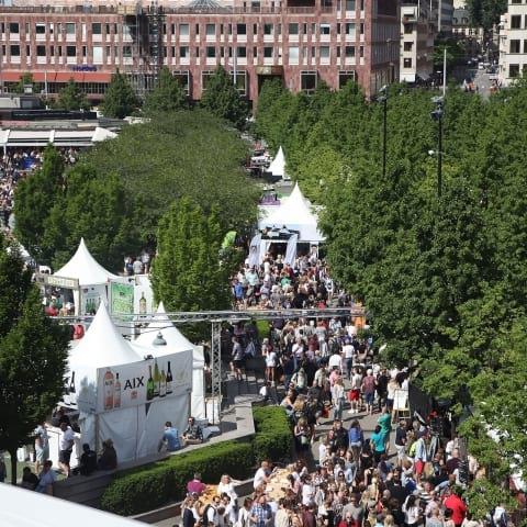 Nu drar festivalen Smaka på Stockholm igång