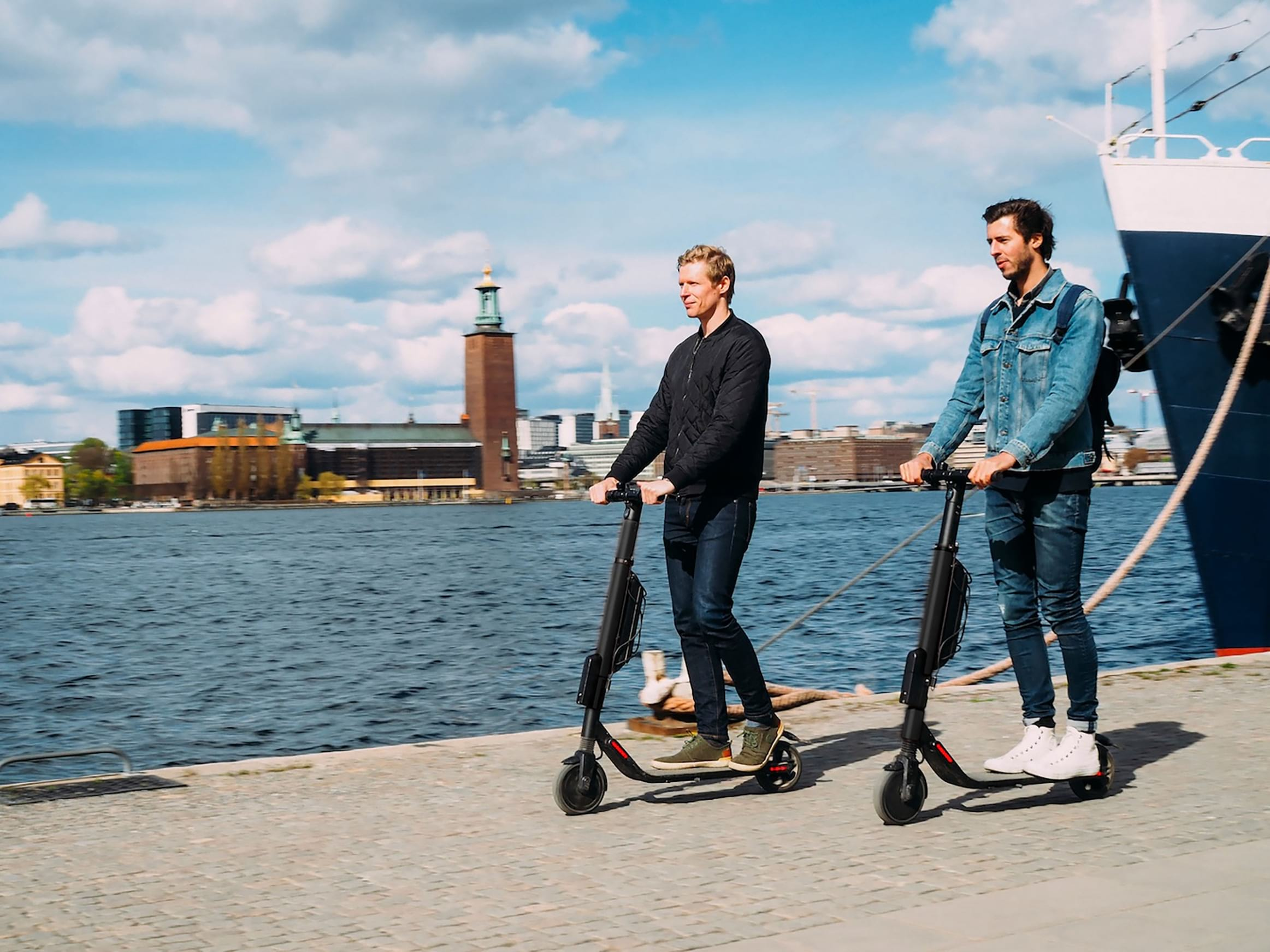 Stockholm Scooter Tour
