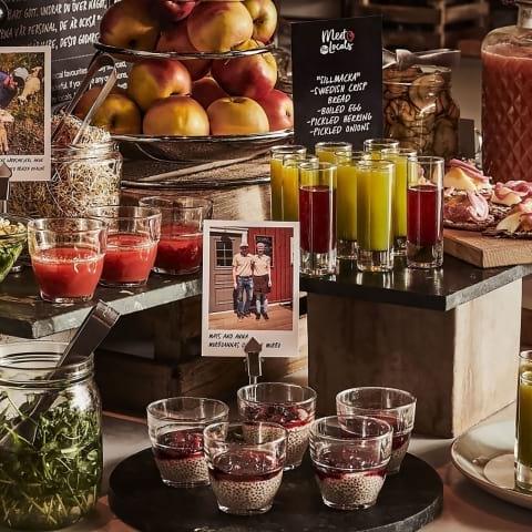 Tidbloms Hotel börjar med närproducerad frukost
