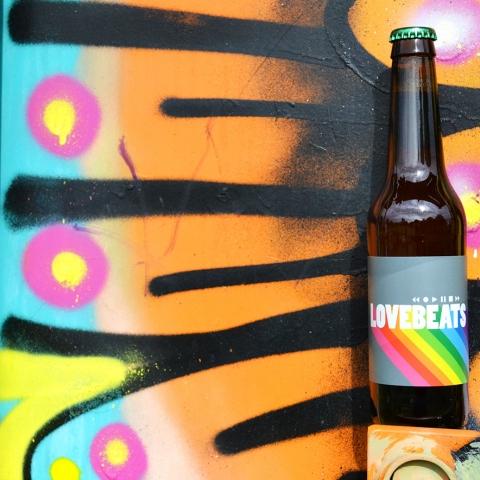 Westpride får en egen öl – Lovebeats
