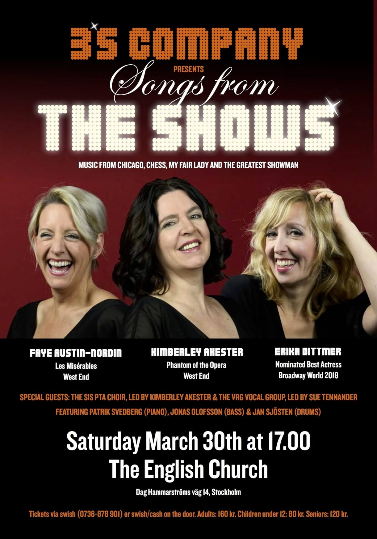 """3´s Company presents: """"Songs from the shows"""""""