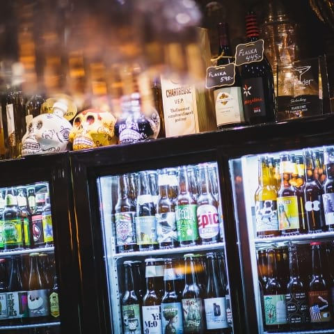 Årets flasköppning på Steampunk Bar under Gbg Beer Week
