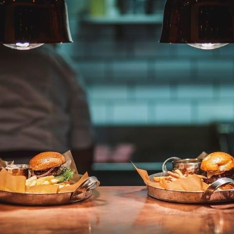 Burgare med smak från hela världen på The Burger