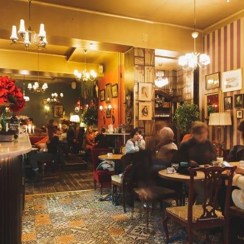Kvällsöppna caféer i Stockholm
