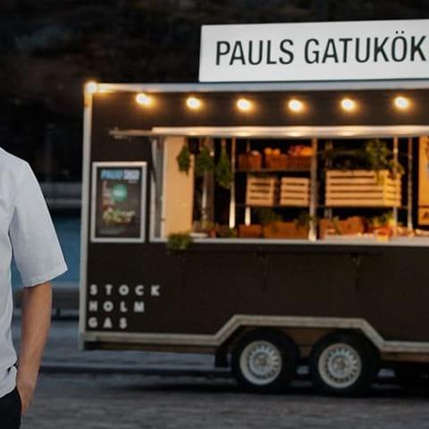 Paul Svensson öppnar gatukök –ett halvårs väntetid på maten