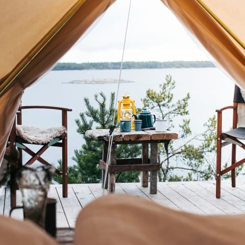 The best glamping spots around Stockholm