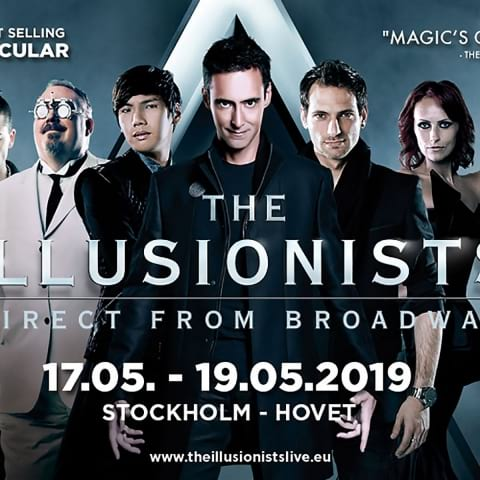 Magishowen The Illusionists kommer till Stockholm