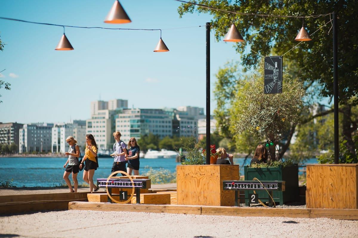 Aktiviteter under sommaren i Stockholm