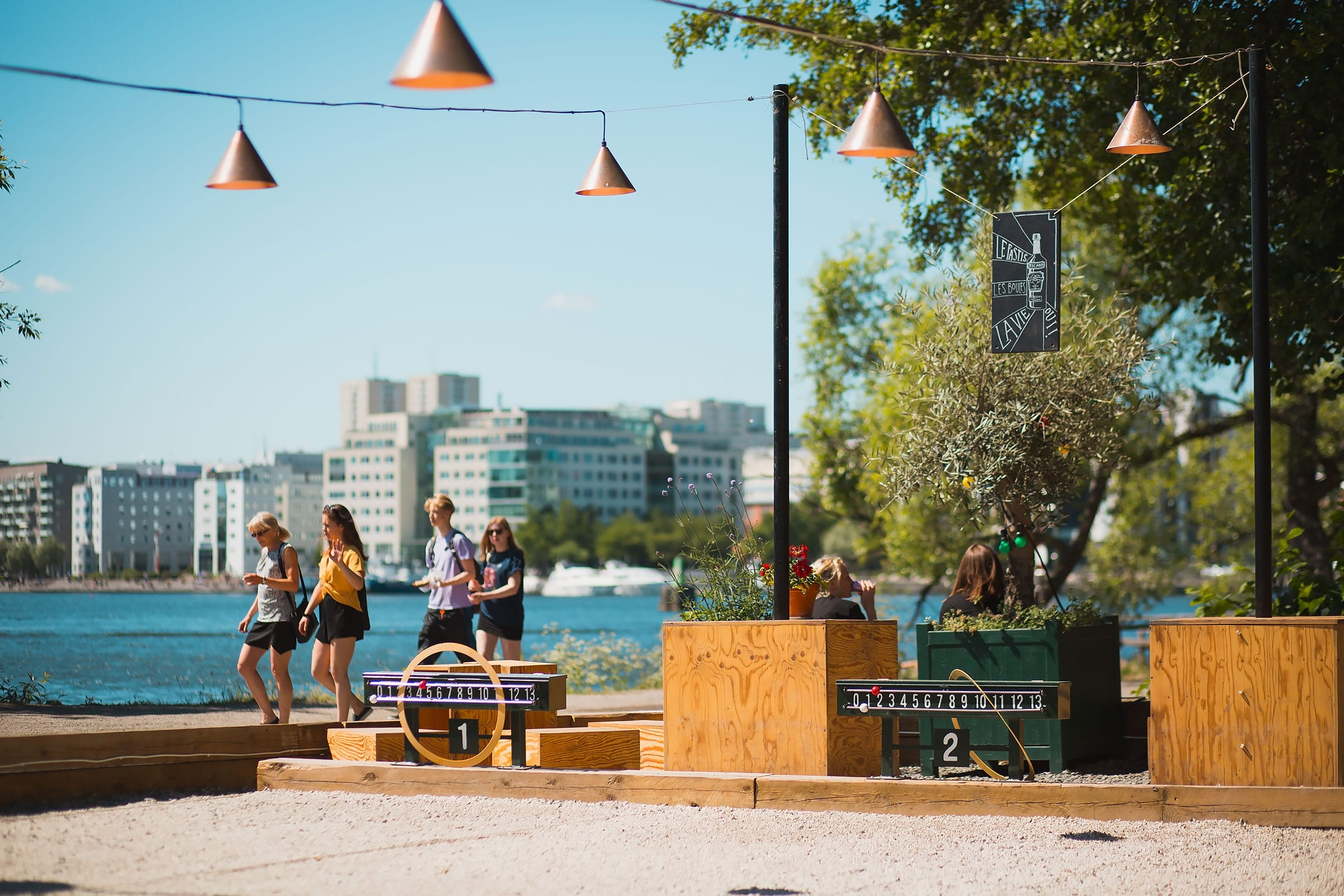 Summer activities in Stockholm