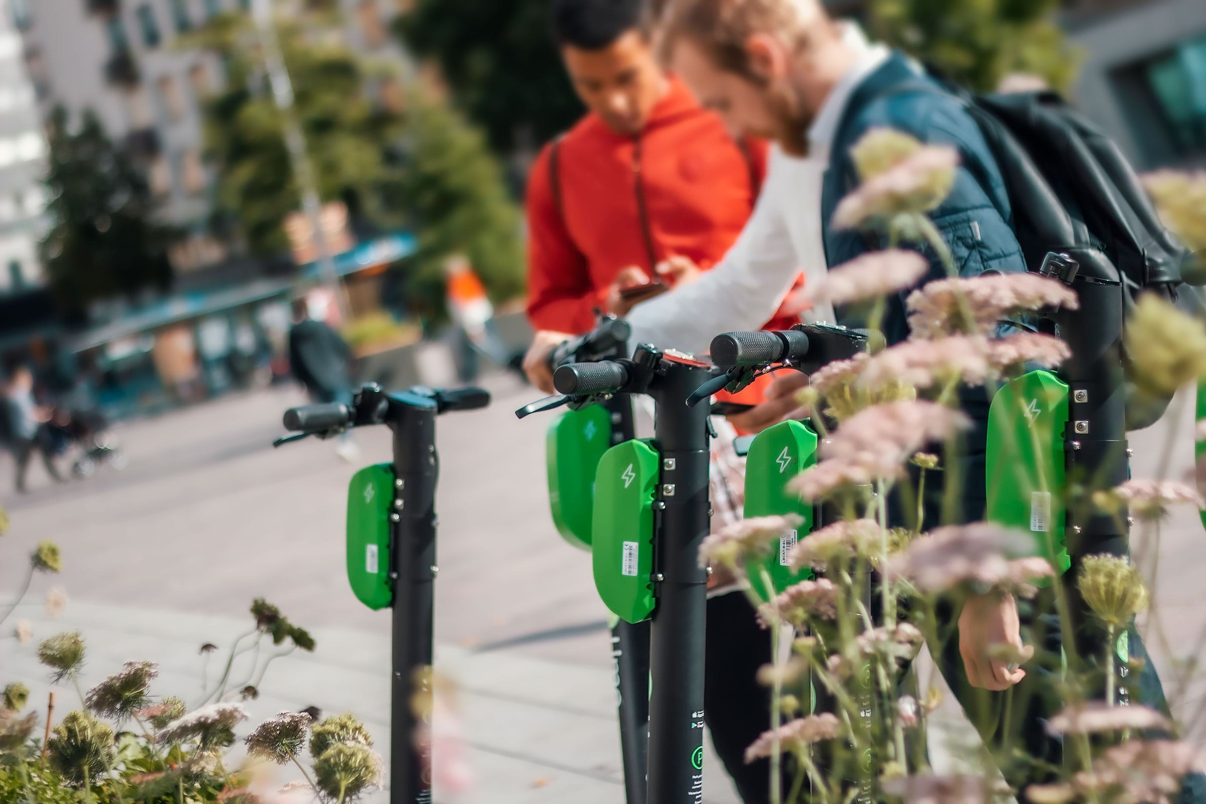 Getting around Stockholm - how to rent an electric scooter