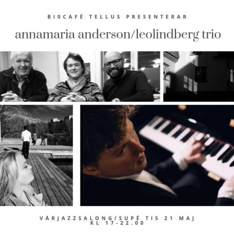 Vårjazzsalong med AnnaMaria Anderson & Leo Linberg Trio