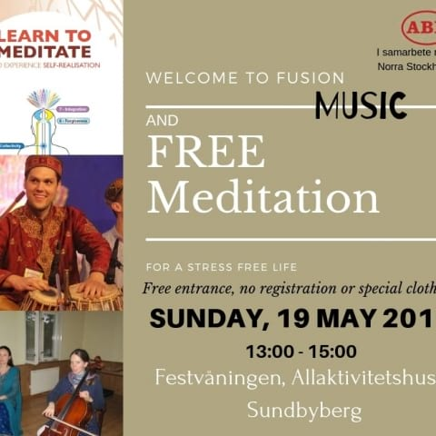 Welcome to a magical afternoon with meditation and live music