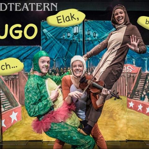 Boulevardteatern: Hugo – elak, blodtörstig och... Jättefarlig?